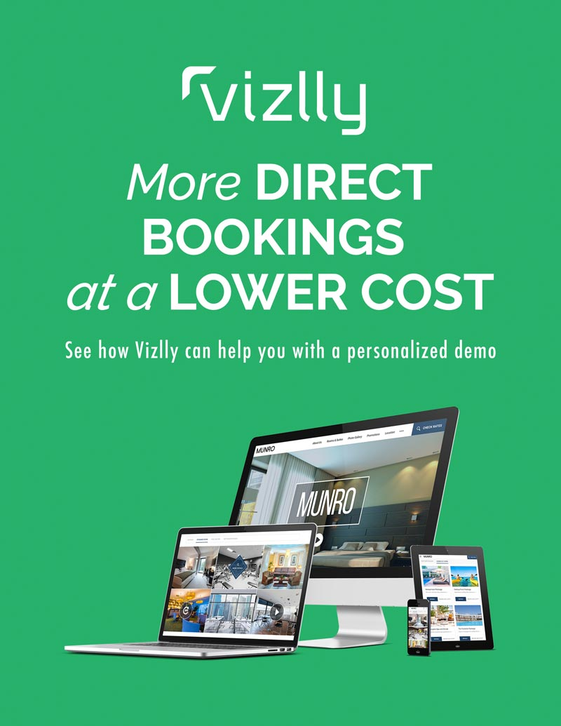 more direct bookings at a lower cost